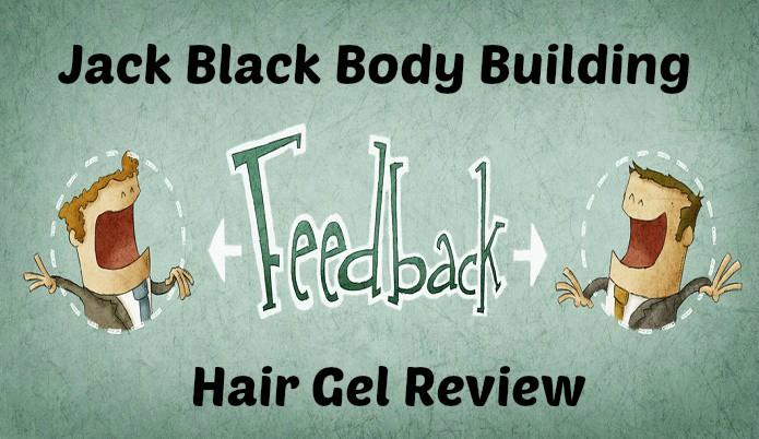 Jack Black Body Building Hair Gel Review
