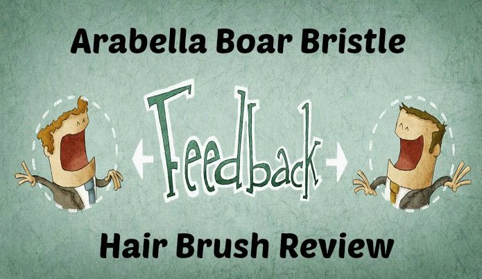 Arabella Boar Bristle Hair Brush Review