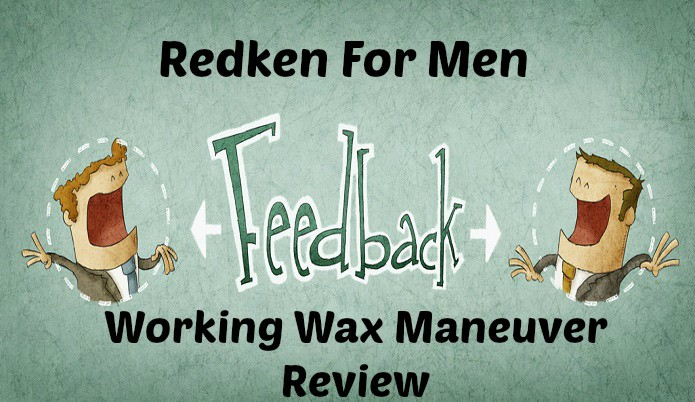Redken For Men Working Wax Maneuver Review