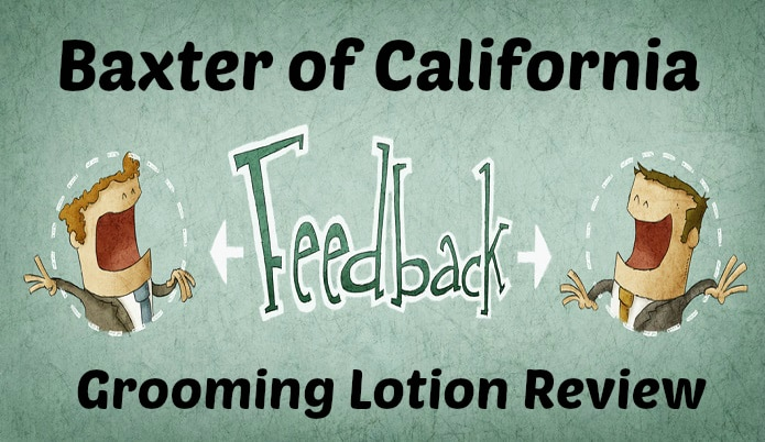 Baxter of California Grooming Lotion Review