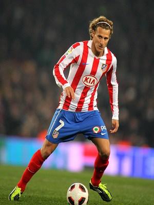 Diego Forlan Long Hair