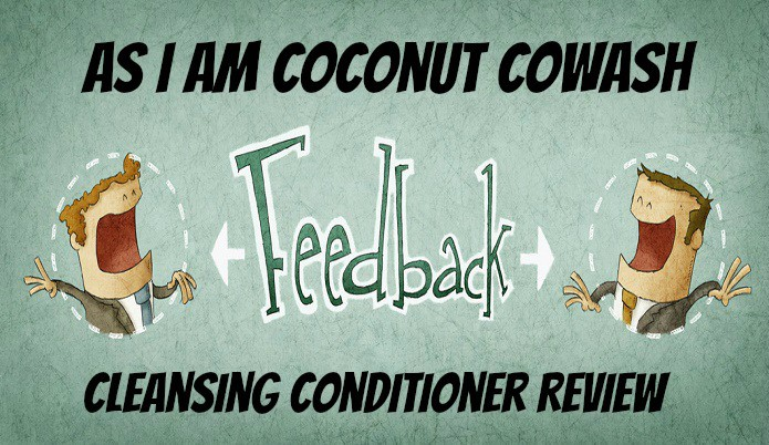 As I Am Coconut Cowash Cleansing Conditioner Review