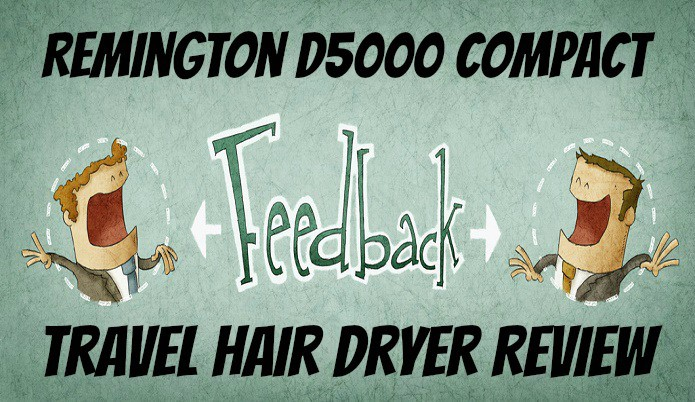 remington D5000 Portable hair dryer review