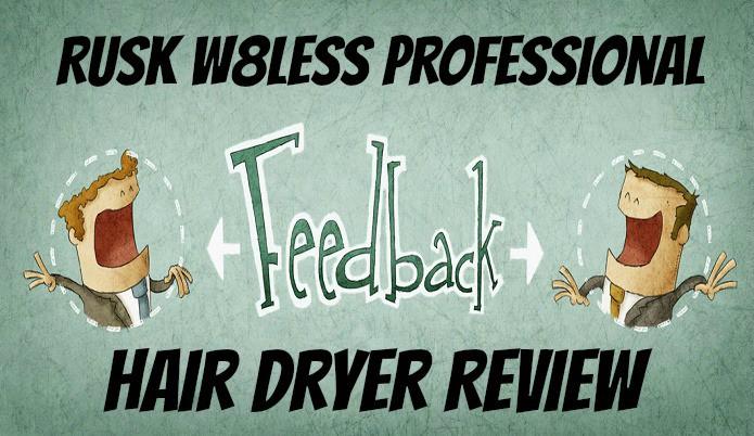 rusk light weight hair dryer review