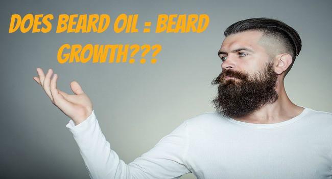 Is beard oil used for helping your beard grow