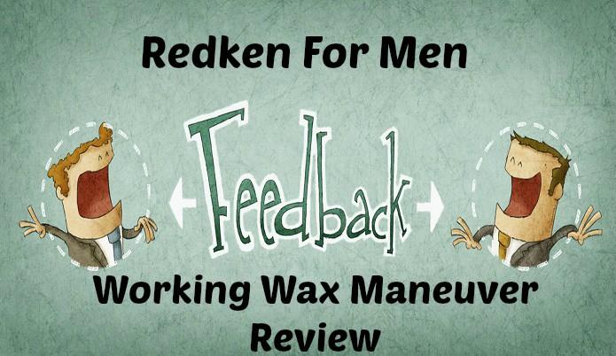 Redken For Men Working Wax Maneuver Review