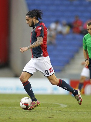 Mauricio Pinilla Long Hair