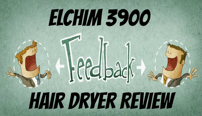 giving my review on hair dryer 3900 by elchim