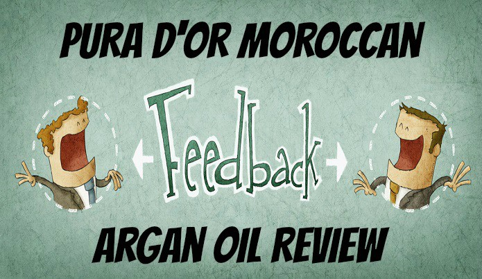 pura d or argan hair oil review